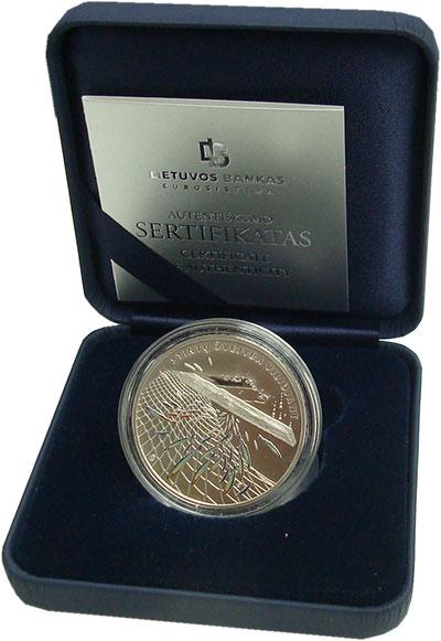 Изображение Подарочные монеты Литва 10 евро 2019 Серебро Proof