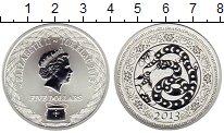 Изображение Монеты Новая Зеландия Токелау 5 долларов 2013 Серебро UNC