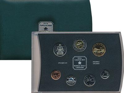 Изображение Подарочные монеты Канада Набор 2000 года 2000  Proof
