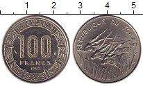 Изображение Монеты Чад 100 франков 1980 Медно-никель XF