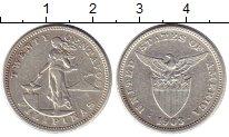 Изображение Монеты Филиппины 20 сентаво 1903 Серебро XF-