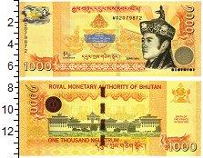 Изображение Банкноты Бутан 1000 нгултрум 2016  UNC