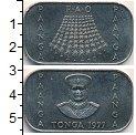 Изображение Монеты Тонга 1 паанга 1977 Медно-никель UNC-