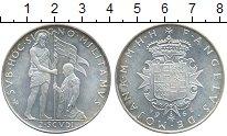 Изображение Монеты Мальтийский орден 2 скуди 1962 Серебро UNC-