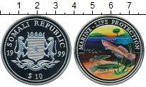 Изображение Монеты Сомали 10 долларов 1999 Медно-никель Proof
