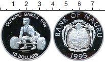 Изображение Монеты Науру 10 долларов 1995 Серебро Proof-