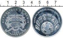 Изображение Монеты Бенин 1000 франков 2012 Серебро Proof-