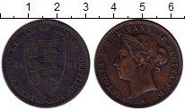 Изображение Монеты Остров Джерси 1/12 шиллинга 1881 Бронза XF