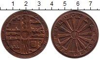 Изображение Монеты Уругвай 1000 песо 1969 Медь XF