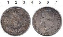 Изображение Монеты Бразилия 2000 рейс 1889 Серебро VF