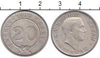 Изображение Монеты Малайзия Саравак 20 центов 1927 Серебро XF