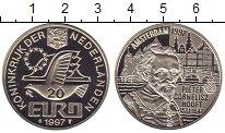 Изображение Монеты Нидерланды 20 евро 1997 Серебро Proof