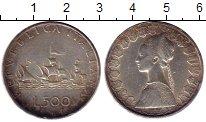 Изображение Монеты Италия 500 лир 1958 Серебро XF