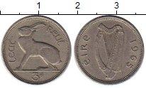 Изображение Монеты Ирландия 3 пенса 1965 Медно-никель XF