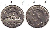 Изображение Монеты Канада 5 центов 1947 Медно-никель XF