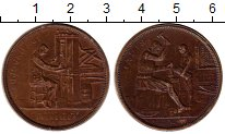 Изображение Монеты Бельгия Жетон 1910 Бронза XF