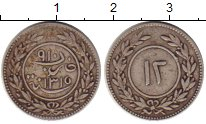 Изображение Монеты Йемен 12 хумши 1897 Серебро XF