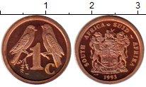 Изображение Монеты ЮАР 1 цент 1993 Бронза Proof-