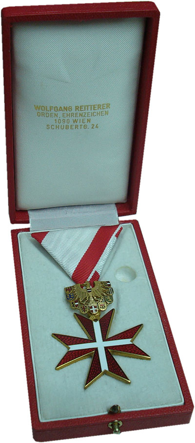 Изображение Подарочные монеты Австрия Медаль 0 Бронза UNC ```Золотой почетный