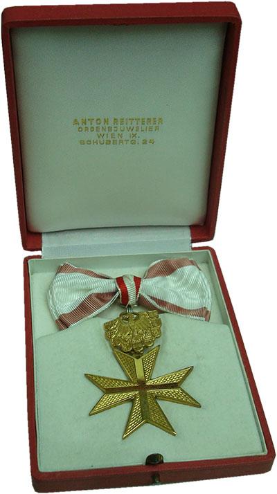 Изображение Подарочные монеты Австрия Медаль 0 Бронза UNC `Золотой Знак отличи