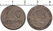 Изображение Монеты Перу 10 сентаво 1939 Медно-никель XF