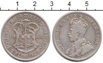 Изображение Монеты ЮАР 1 флорин 1924 Серебро XF-