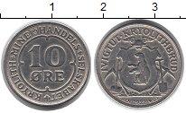 Изображение Монеты Дания Гренландия 10 эре 1922 Медно-никель XF