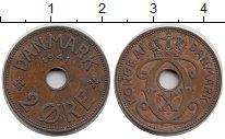 Изображение Монеты Фарерские острова 2 эре 1941 Бронза XF