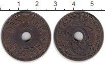 Изображение Монеты Фарерские острова 5 эре 1941 Бронза XF
