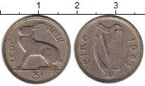 Изображение Монеты Ирландия 3 пенса 1963 Медно-никель XF