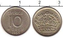 Изображение Монеты Швеция 10 эре 1953 Серебро XF