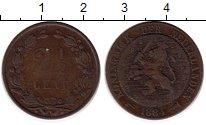 Изображение Монеты Нидерланды 2 1/2 цента 1884 Бронза VF