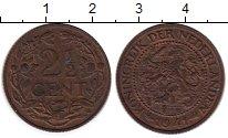 Изображение Монеты Нидерланды 2 1/2 цента 1941 Бронза XF