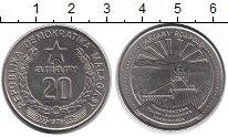 Изображение Монеты Мадагаскар 20 ариари 1978 Медно-никель XF+