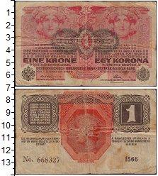 Изображение Банкноты Австрия 1 крона 1919  F