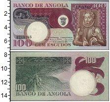 Изображение Банкноты Ангола 100 эскудо 1973  UNC