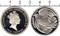 Изображение Монеты Великобритания 2 фунта 1995 Серебро Proof-