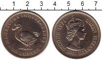 Изображение Монеты Маврикий 10 рупий 1971 Медно-никель UNC-