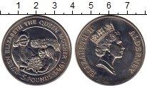 Изображение Монеты Великобритания Олдерни 5 фунтов 1995 Медно-никель UNC-