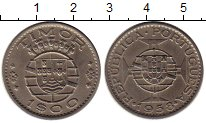 Изображение Монеты Тимор 1 эскудо 1958 Медно-никель XF