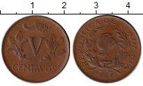 Изображение Монеты Колумбия 5 сентаво 1967 Бронза XF