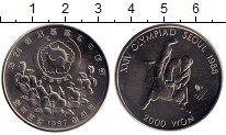 Изображение Монеты Южная Корея 2000 вон 1987 Медно-никель UNC