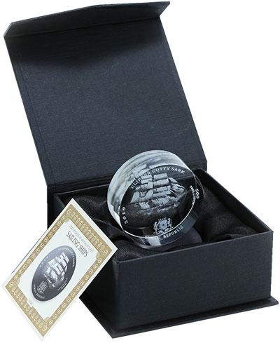 Изображение Подарочные монеты Сомали 500 шиллингов 2019 Стекло UNC Парусник Катти-Сарк.