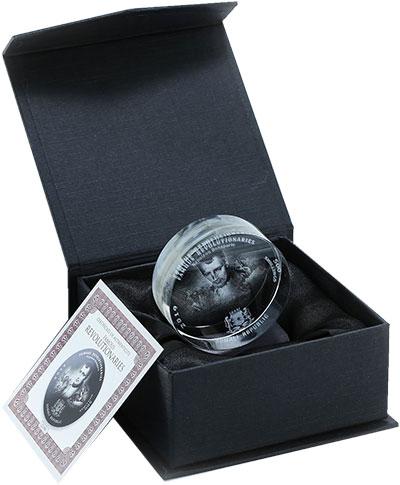 Изображение Подарочные монеты Сомали 500 шиллингов 2019 Стекло UNC Наполеон Бонопарт. М