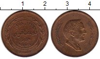 Изображение Монеты Иордания 5 филс 1978 Бронза VF