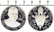 Изображение Монеты Ватикан 5 евро 2012 Серебро Proof