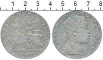 Изображение Монеты Эфиопия 1 бирр 1895 Серебро VF