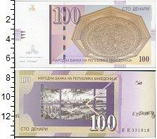 Изображение Банкноты Македония 100 денаров 2007  UNC
