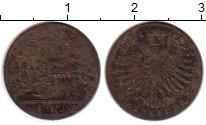 Изображение Монеты Германия Франкфурт 1 крейцер 1839 Серебро VF