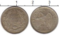 Изображение Монеты Чили 10 сентаво 1904 Серебро XF